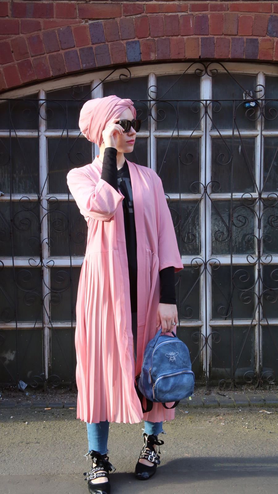 Latest Outfit of the Day from Nabiila Bee featuring our Jana Evening Coat