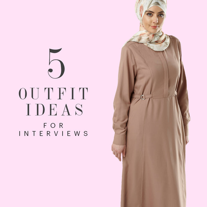 5 Outfit Ideas for Interviews