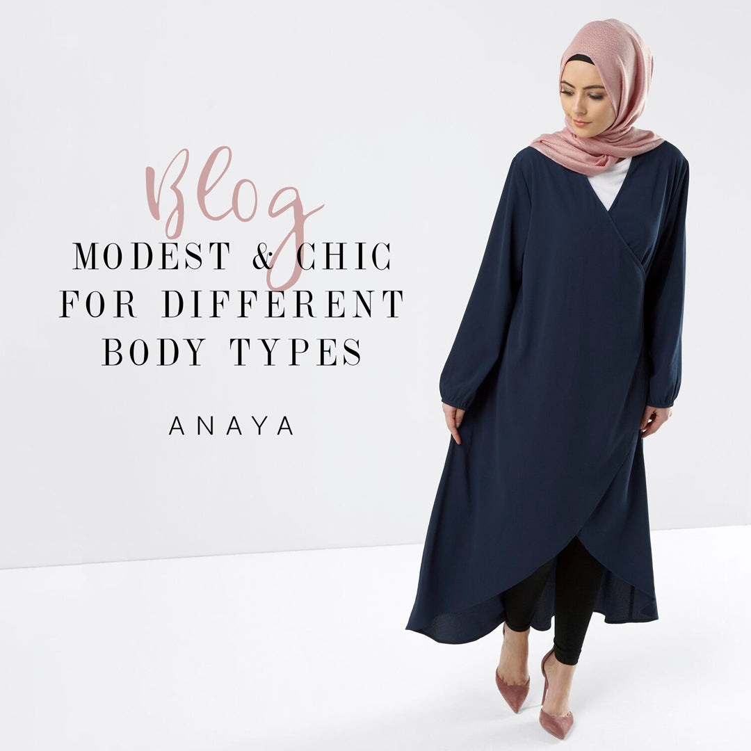 a450f998974d Modest and Chic Outfits according to body types | Anaya Clothing