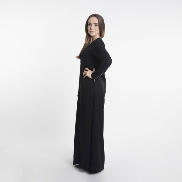 Daana Zip Maxi Dress - Anaya Clothing