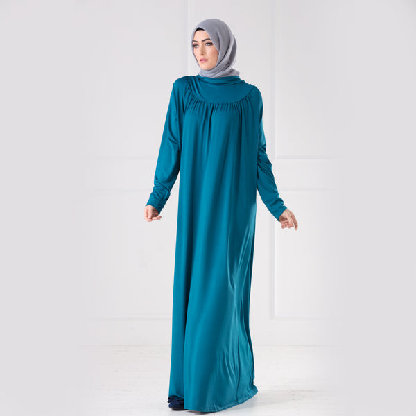 High Collar Maxi Dress - Anaya Clothing