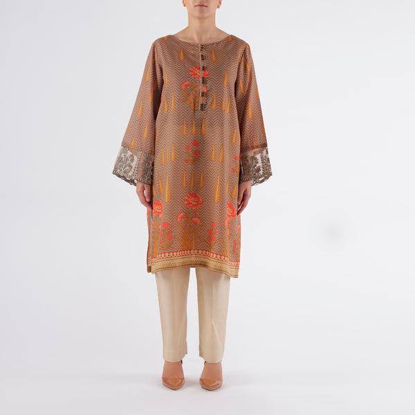 Oaks 2 Piece Maisuri Embroidered Shirt - Anaya Clothing