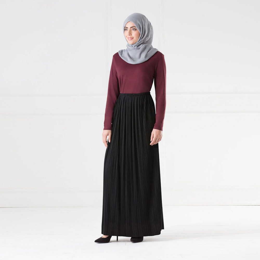 Ruba Pleated Skirt