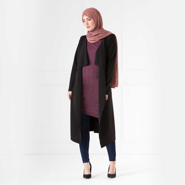 Tara Waterfall Coat - Anaya Clothing