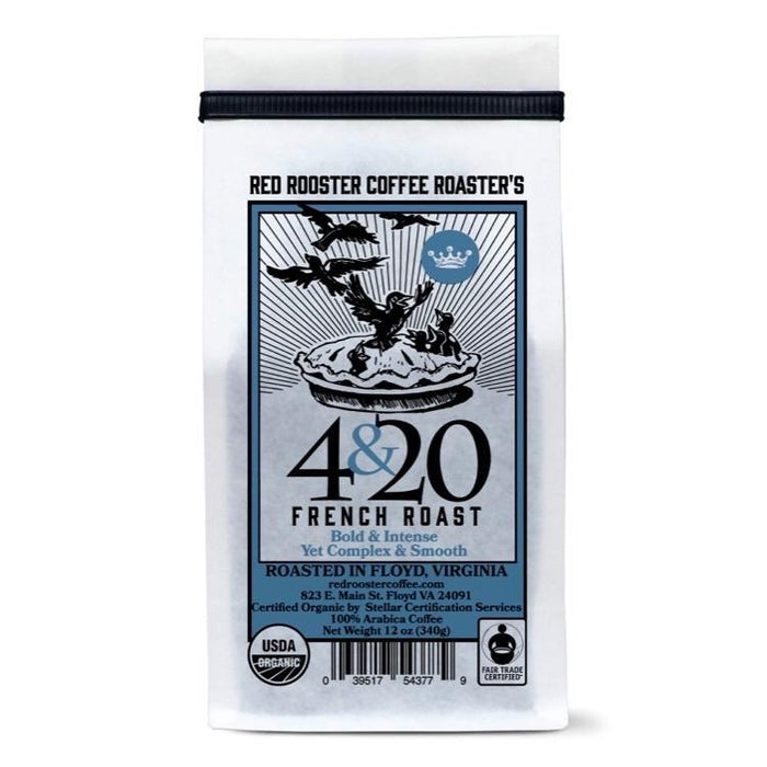 4&20 French Roast Red Rooster Coffee 12oz. bag 04-27-2018