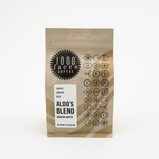 Aldo's Blend 1000 Faces Coffee 12oz.