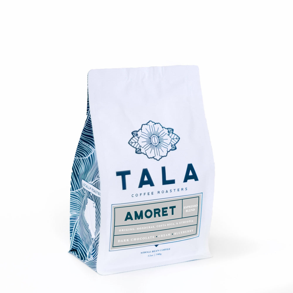 Amoret Espresso Blend Tala Coffee Roasters 12oz. bag
