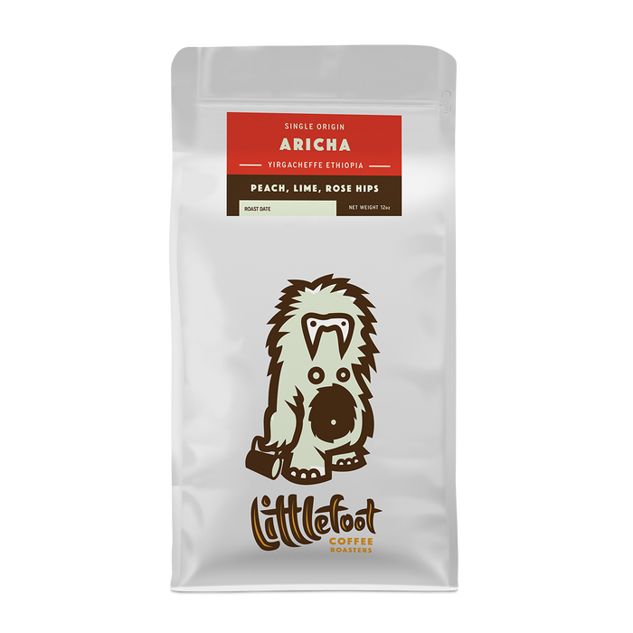 Aricha Littlefoot Coffee 12oz. bag