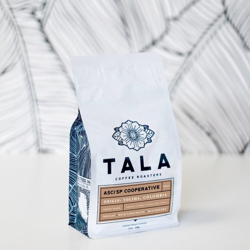 ASCI'SP Cooperative: Tolima, Colombia Tala Coffee Roasters 12oz. bag 04-26-2018