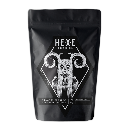 Black Magic Hexe Coffee Co. 12oz. bag 05-23-2018