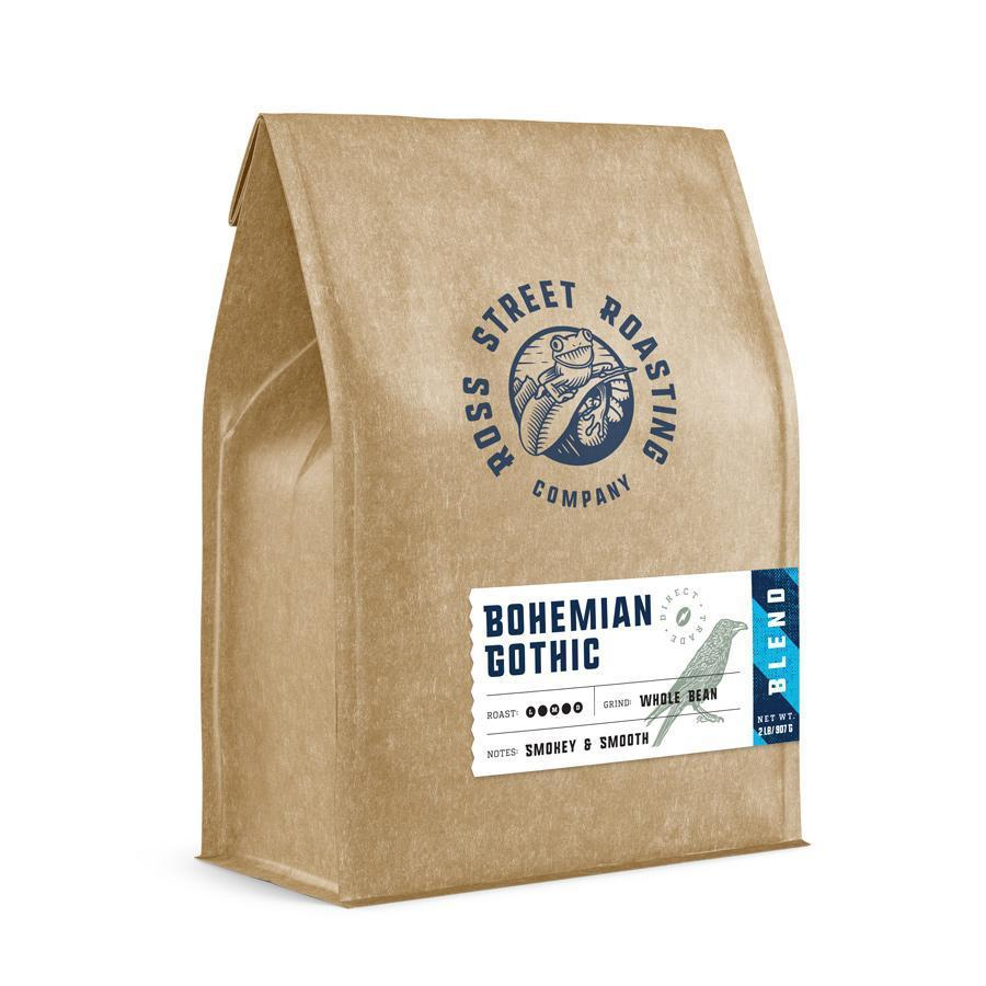 Bohemian Gothic - Dark Roast Blend (5lb.) Ross Street Roasting Co. 5lb bag