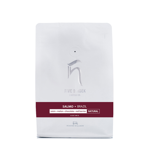 Brazil Salmo Five & Hoek Coffee Co. 12oz.