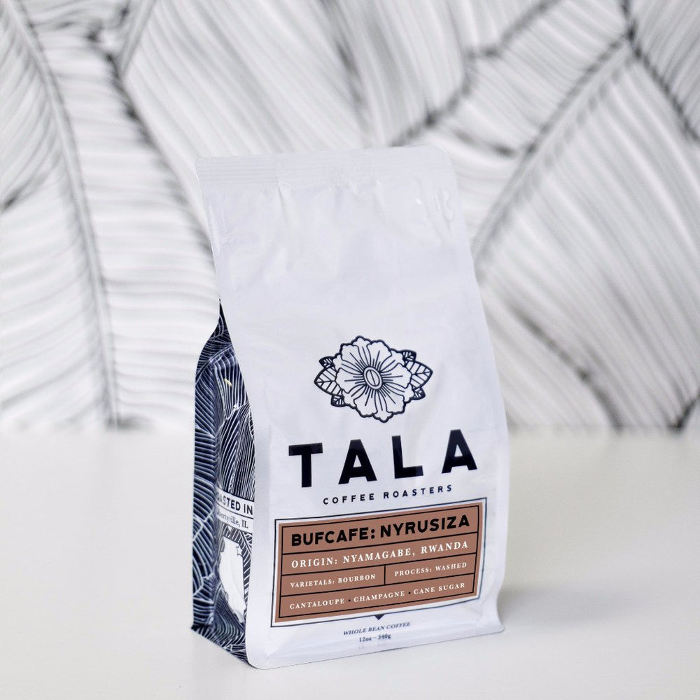 Bufcafe: Nyamagabe, Rwanda Tala Coffee Roasters 12oz. bag Default Title