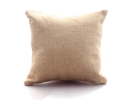 Burlap Pillow (15x15) Beto's Coffee Co. Home Decor