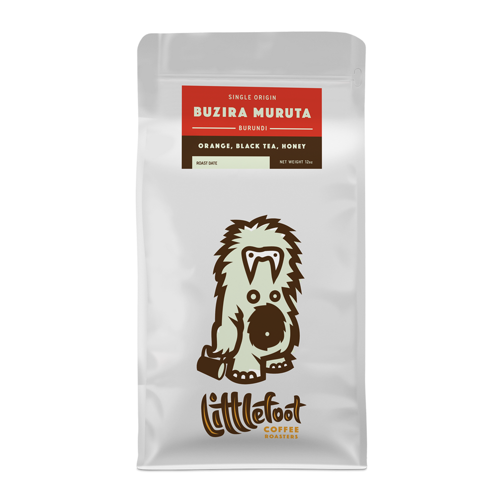 Buzira Muruta Burundi Littlefoot Coffee 12oz. bag 05-16-2018