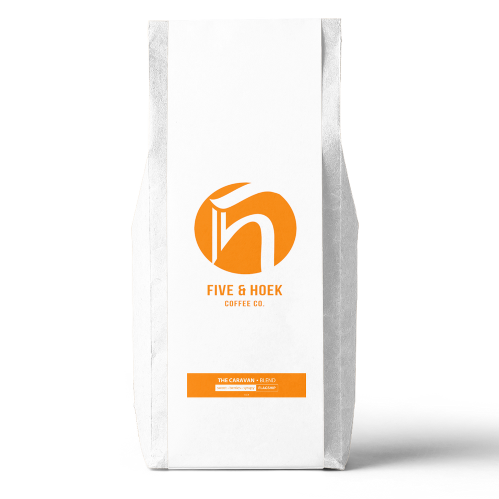 Caravan House Blend (5lb.) Five & Hoek Coffee Co. 5lb bag