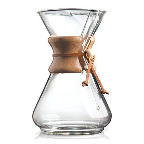 Chemex 10-Cup Classic Series Glass Coffee Maker Javaya • getjavaya.com Coffeemaker