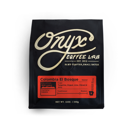 Colombia El Bosque Onyx Coffee Lab 12oz. bag