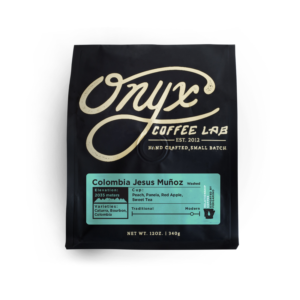 Colombia Jesus Muñoz Onyx Coffee Lab 12oz.