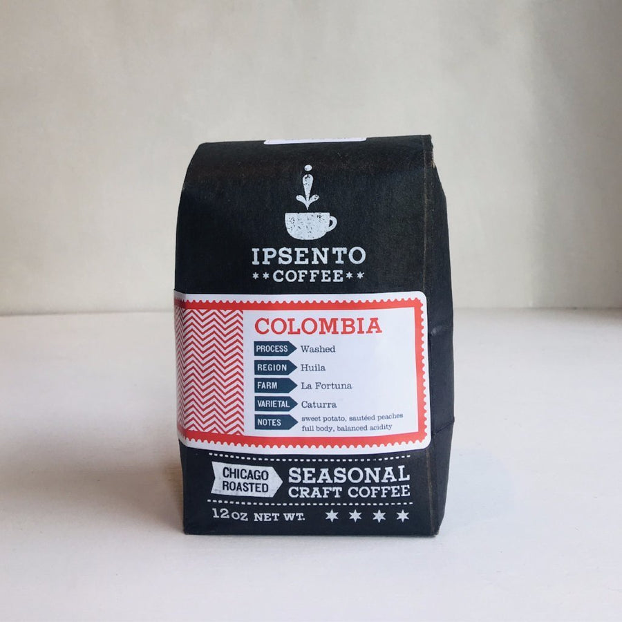 Colombia La Fortuna Ipsento Coffee 12oz. bag Default Title
