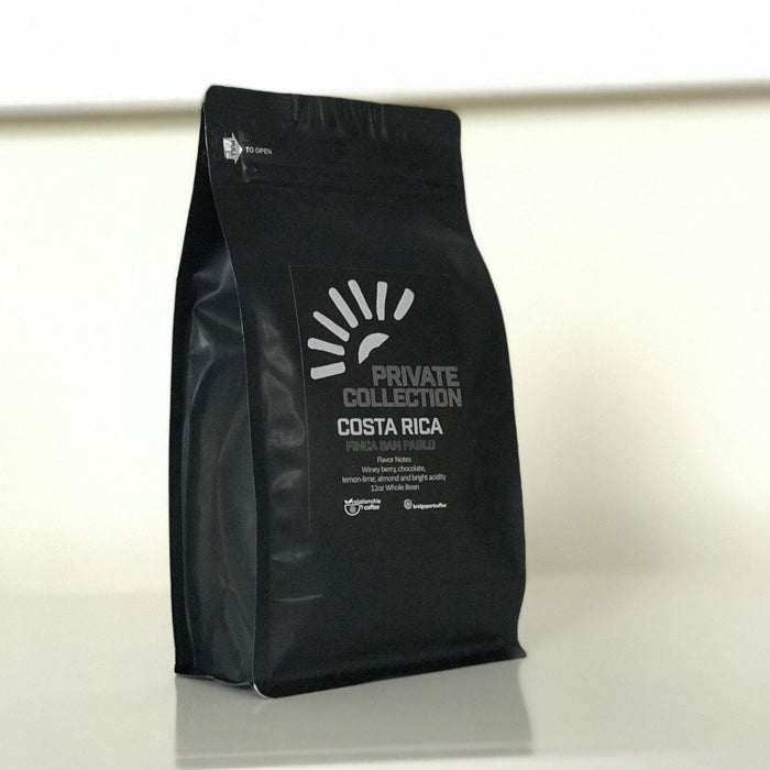 Costa Rica Finca San Pablo Natural Bridgeport Coffee Company 12oz. bag