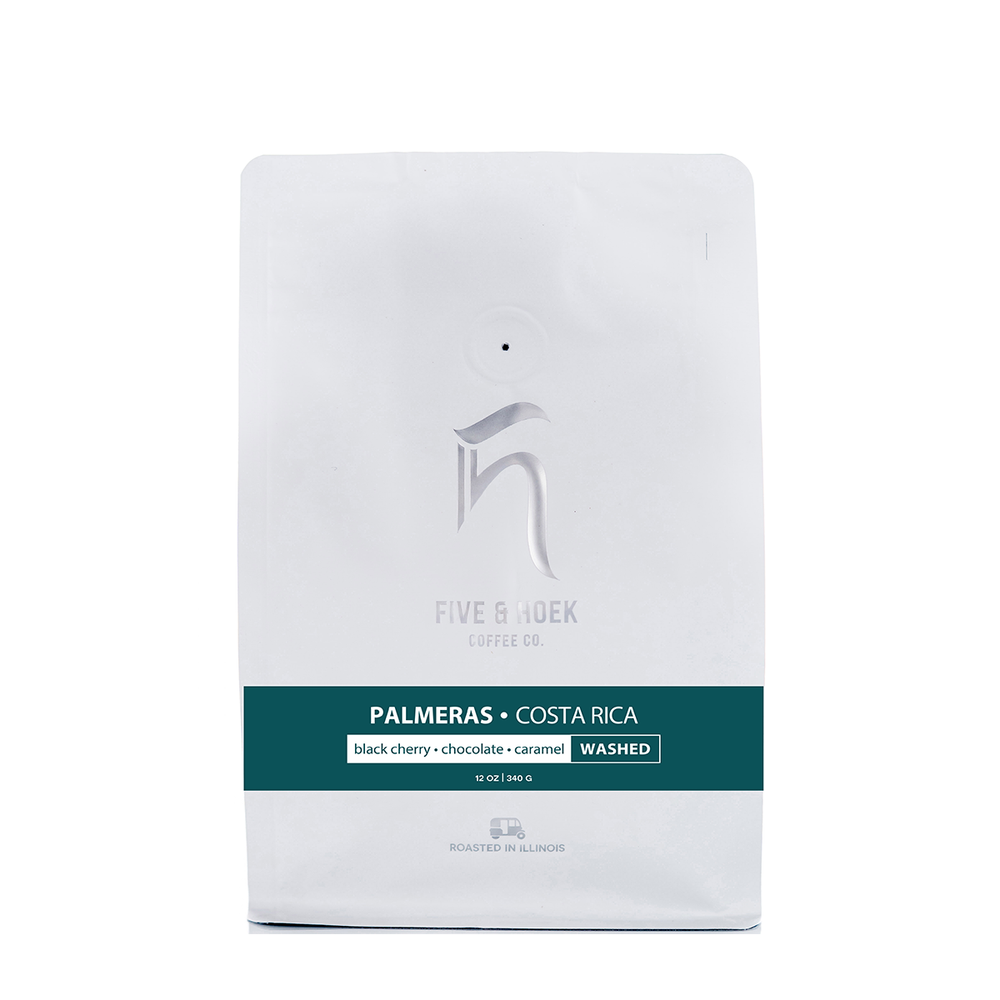 Costa Rica Palmeras Five & Hoek Coffee Co. 12oz. bag