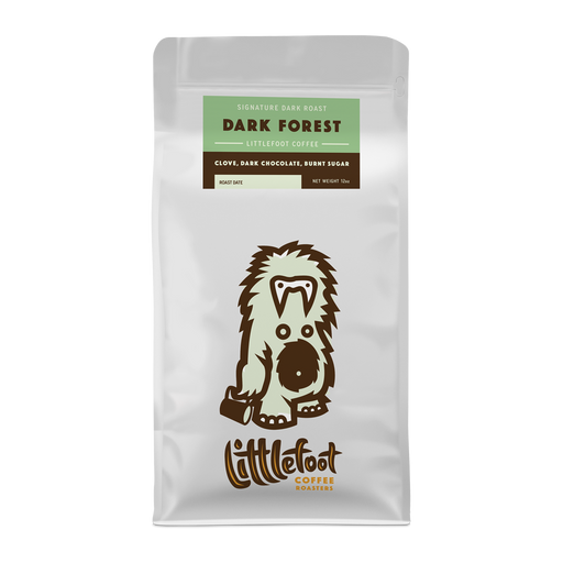 Dark Forest Littlefoot Coffee 12oz. bag 05-16-2018