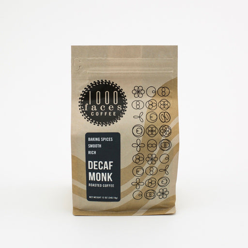 Decaf Monk 1000 Faces Coffee 12oz.