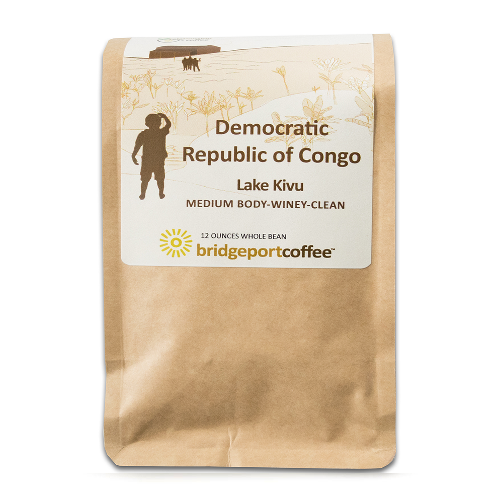 Democratic Republic of Congo Bridgeport Coffee Company 12oz. bag 05-07-2018