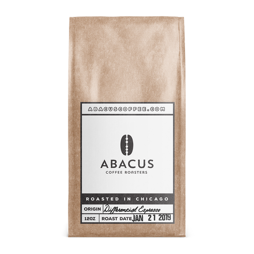 Differential Espresso Blend Abacus Coffee Roasters 12oz. bag 05-14-2018
