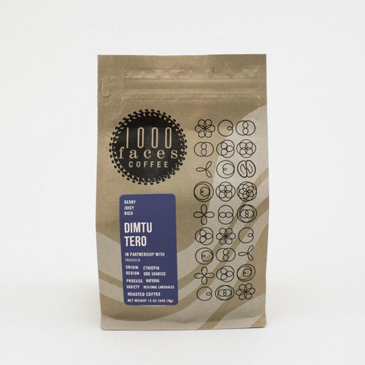 Dimtu Tero 1000 Faces Coffee 12oz.
