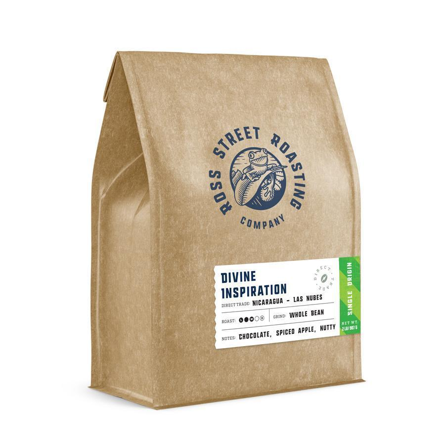 Divine Inspiration - Direct Trade Nicaraguan Coffee (5lb.) Ross Street Roasting Co. 5lb bag