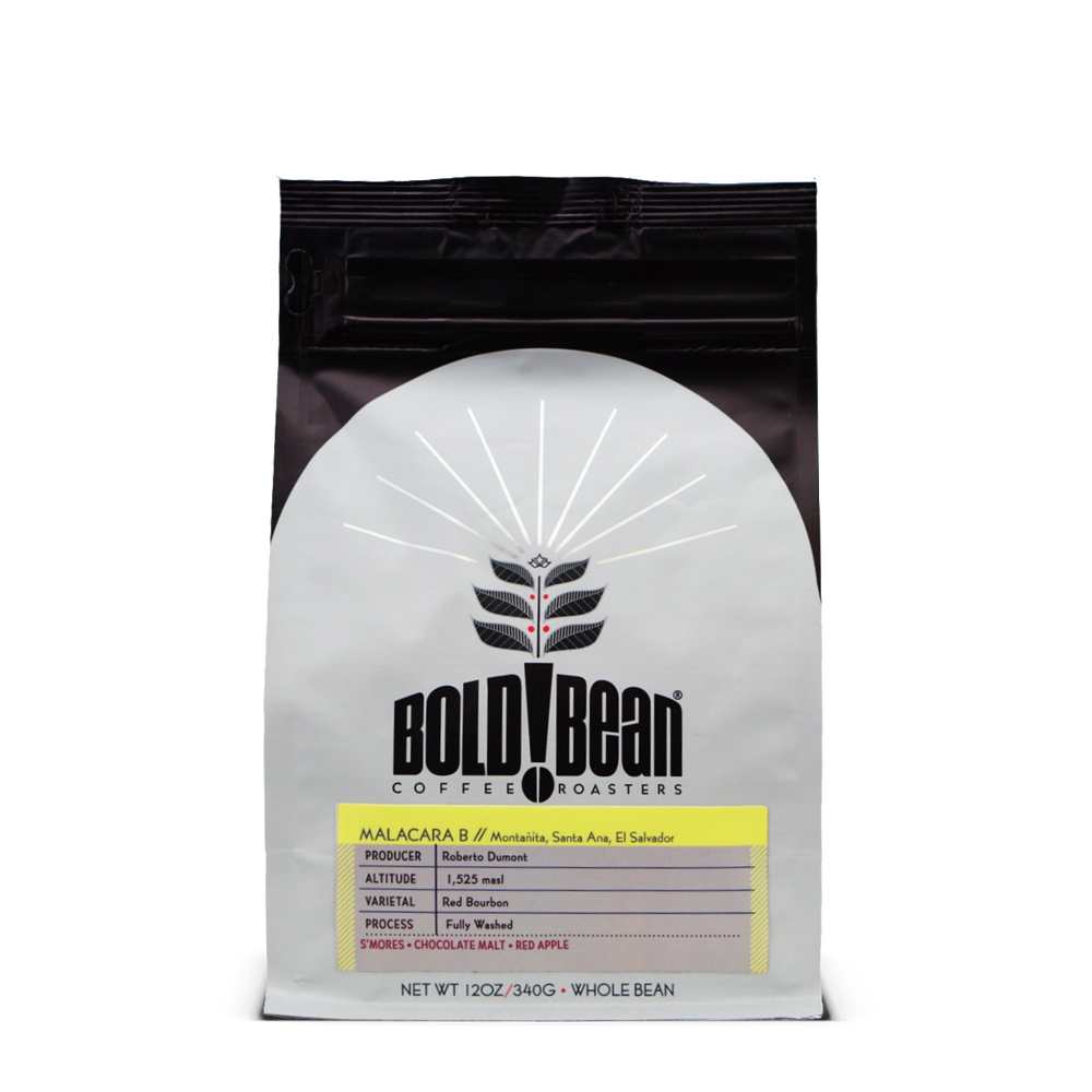El Salvador Malacara B Bold Bean Coffee Roasters 12oz.