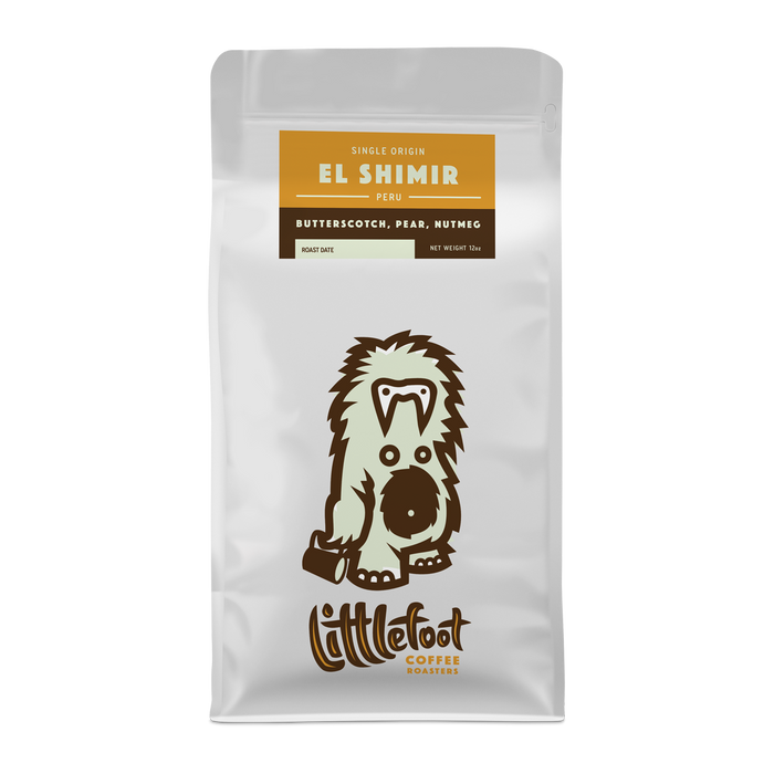 El Shimir Peru Littlefoot Coffee 12oz. bag 05-16-2018