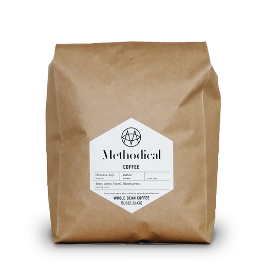 Ethiopia Guji - Washed (5lb.) Methodical Coffee 5lb bag