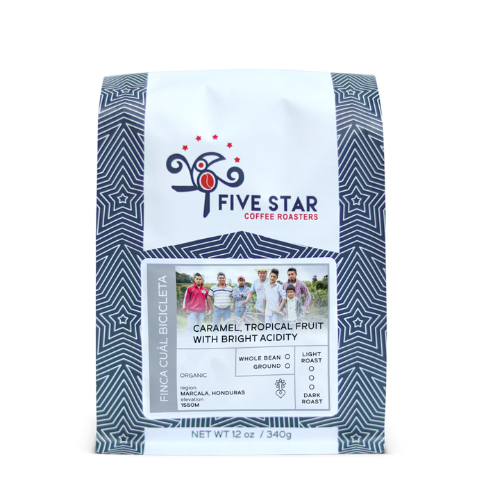 Finca Cual Bicicleta Five Star Coffee Roasters 12oz. bag