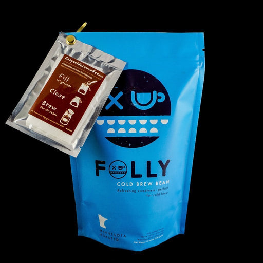 Folly Cold Brew Bean Folly Coffee Roasters 12oz.