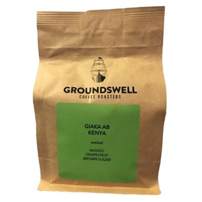 Giaka AB, Kenya Groundswell Coffee Roasters 12oz. bag Default Title