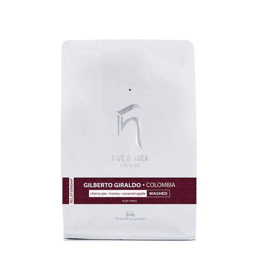 Giraldo Vela Family: Relationship Reserve Five & Hoek Coffee Co. 12oz.