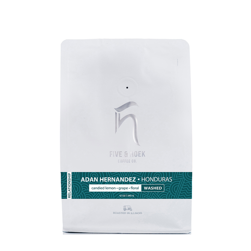 Honduras Adan Hernandez Five & Hoek Coffee Co. 12oz.