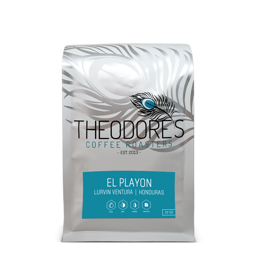 Honduras El Playon Theodore's Coffee Roasters 12oz. bag