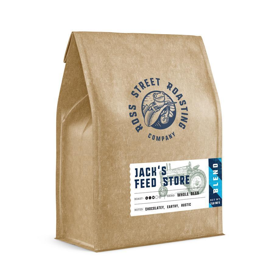 Jack's Feed Store - Medium Roast Blend (5lb.) Ross Street Roasting Co. 5lb bag