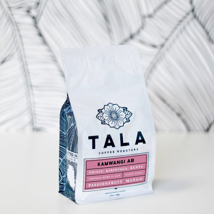 Kamwangi AB: Kirinyaga, Kenya Tala Coffee Roasters 12oz. bag Default Title