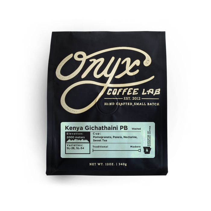Kenya Gichathaini PB Onyx Coffee Lab 12oz. bag