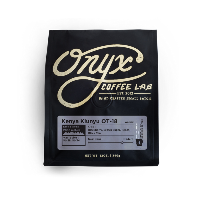 Kenya Kiunyu OT-18 Onyx Coffee Lab 12oz. bag