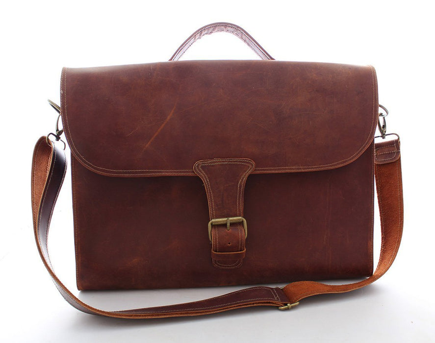 Leather Attaché Bag Beto's Coffee Co. Bag
