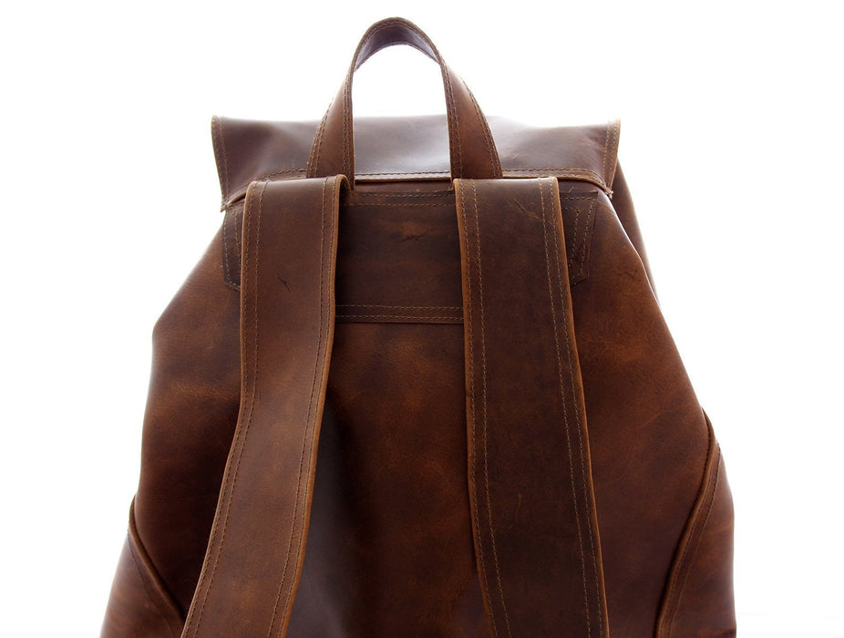 Leather Backpack Beto's Coffee Co. Bag