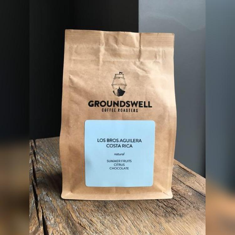 Los Bros Aguilera, Costa Rica Groundswell Coffee Roasters 12oz. bag