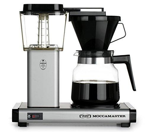 Moccamaster K 741 10-Cup Coffee Brewer with Glass Carafe, Matte Silver Javaya • getjavaya.com Coffeemaker