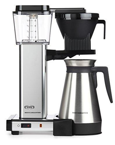 Moccamaster KBGT 10-Cup Coffee Brewer with Thermal Carafe, Polished Silver Javaya • getjavaya.com Coffeemaker